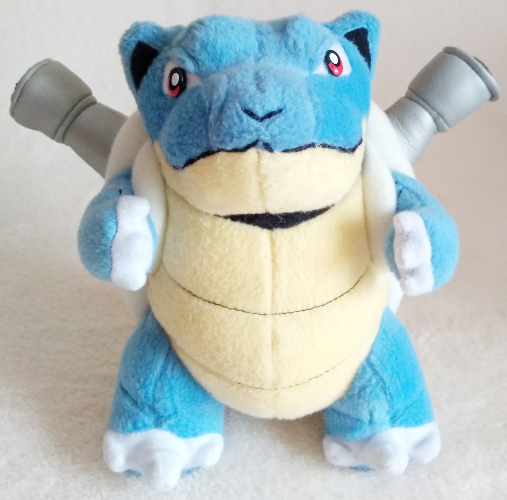 Pokémon Play-By-Play Plush Blastoise smooth 16cm front