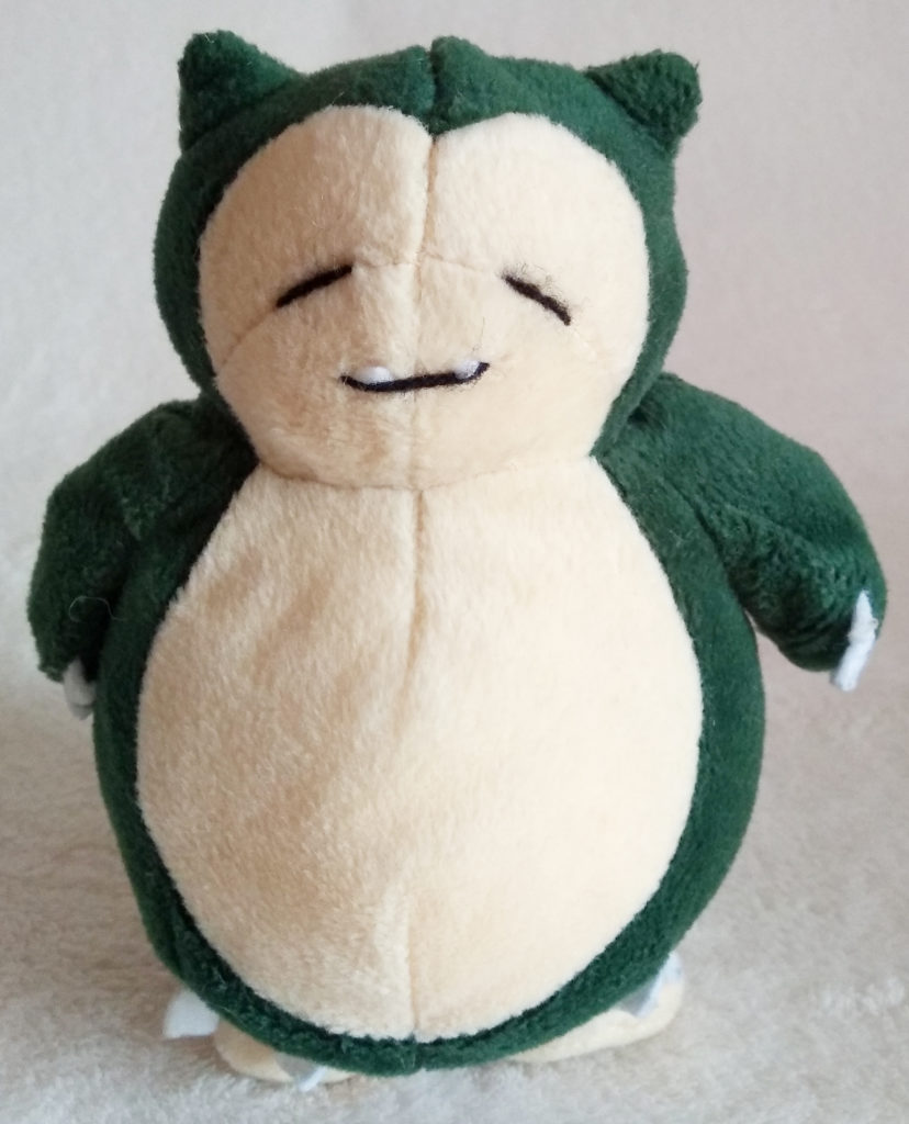 Pokémon Play-By-Play Plush Snorlax smooth 18cm front
