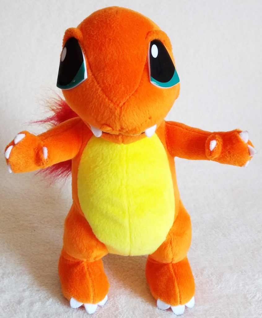 Pokémon Play-By-Play Plush Charmander smooth 26cm front