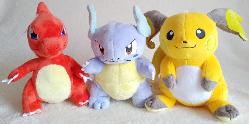 Pokémon All Star Collection Plush by San-ei