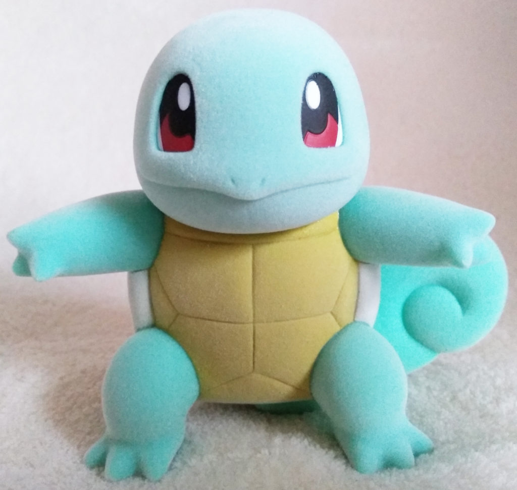 Pokémon Flocking Doll by Sekiguchi Squirtle front