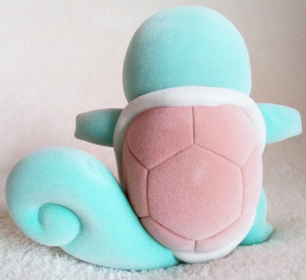 Pokémon Flocking Doll by Sekiguchi Squirtle back