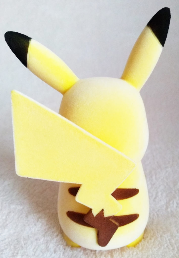Pokémon Flocking Doll by Sekiguchi Pikachu back