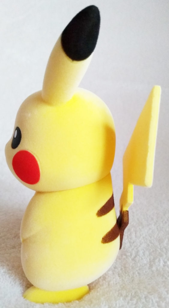 Pokémon Flocking Doll by Sekiguchi Pikachu side