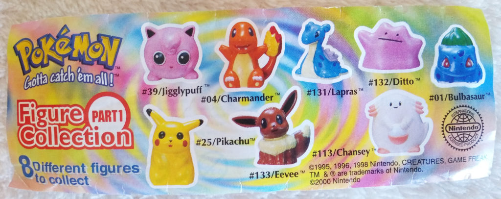 Pokémon Figure Collection by Tomy Part 1