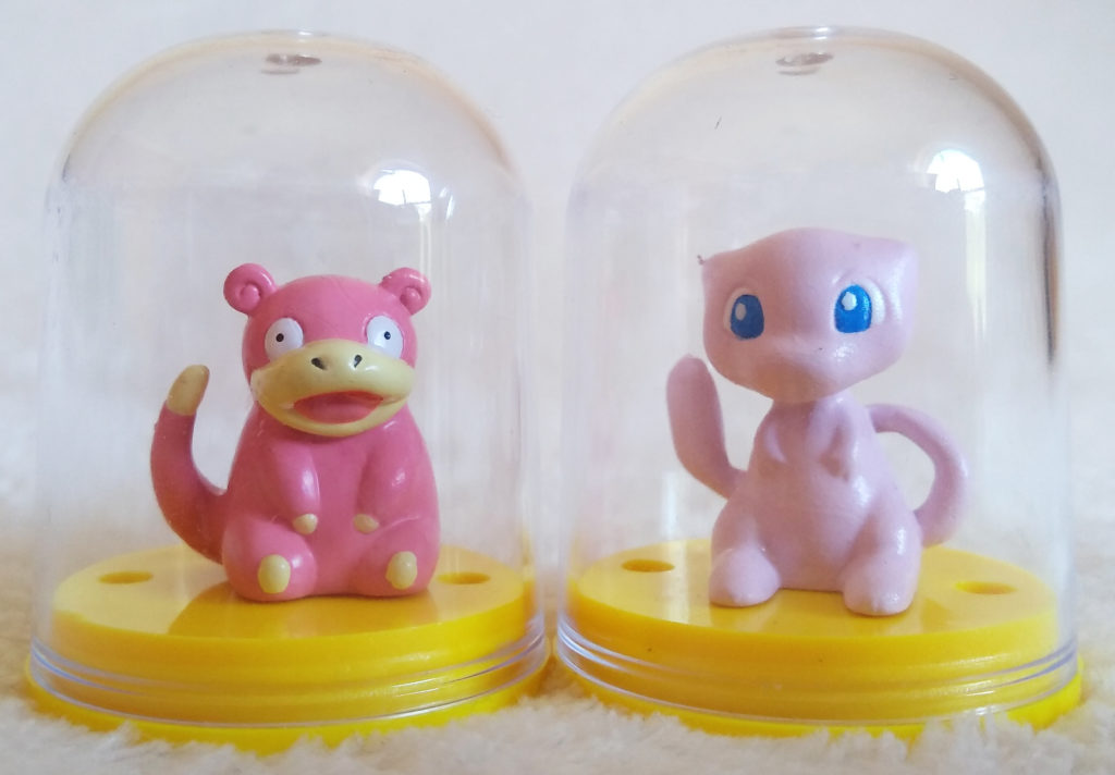 Pokémon Figure Collection by Tomy Slowpoke and Mew