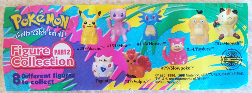 Pokémon Figure Collection by Tomy Part 2