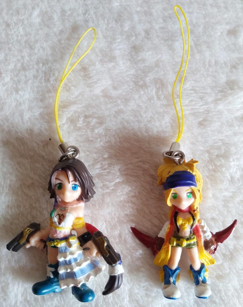 Final Fantasy X-2 Keychains by Bandai