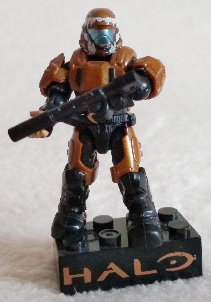 Halo Mega Bloks 97353 ODST Drop Pod Metallic Series (Copper)