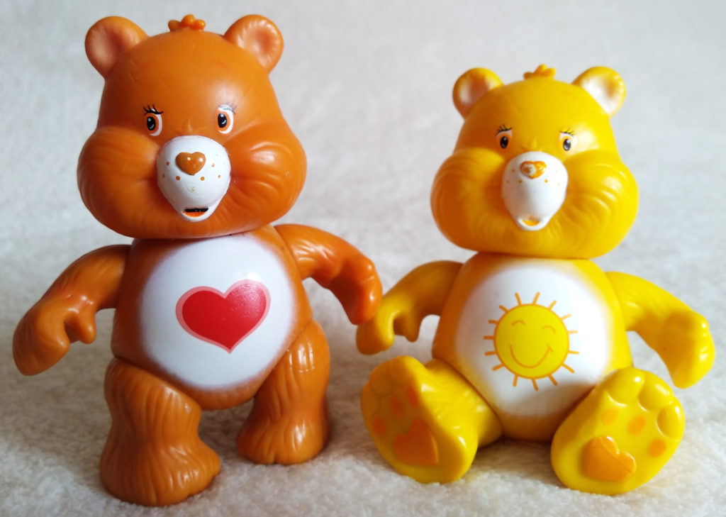 Care Bears poseable figures by Play Along Toys
