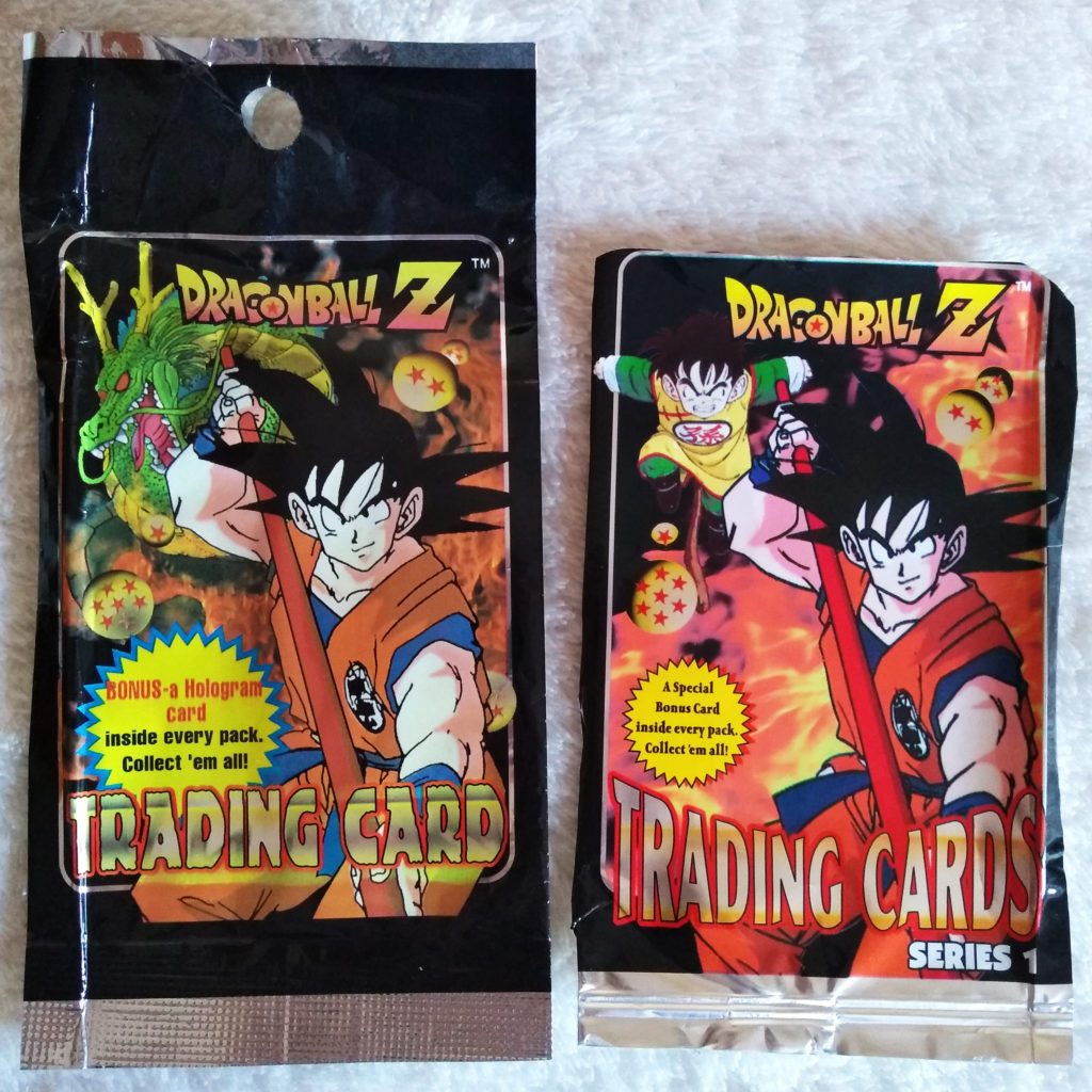 Dragonball Z Trading Cards Series 1 by Artbox packaging