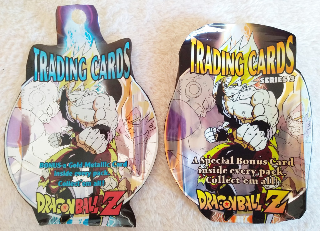Packaging of the Dragonball Z Trading Cards Series 3 by Artbox