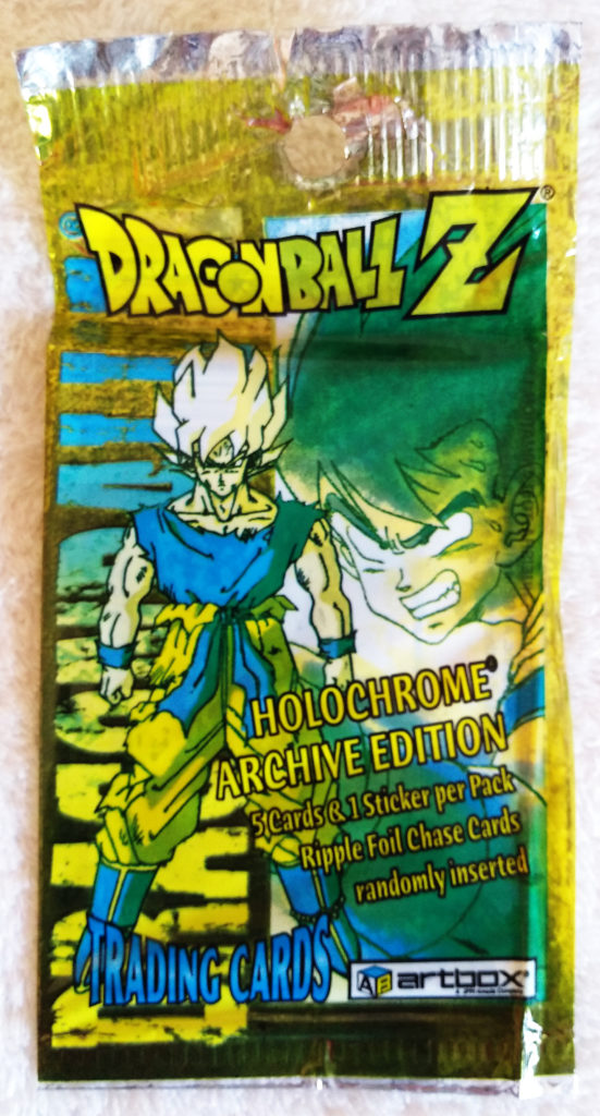 Dragonball Z Chromium Archive Edition by Artbox