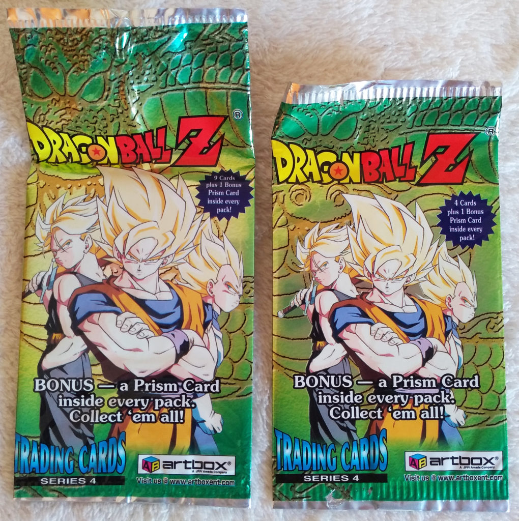 Dragonball Z Trading Cards Series 4 by Artbox