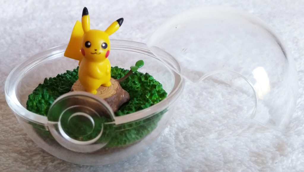 Pokémon Terrarium Collection by Re-ment Vol 1 1 Pikachu