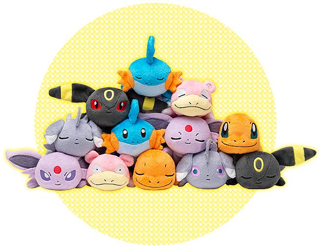 Pokémon Kuttari plush by Pokémon Center Wave 2