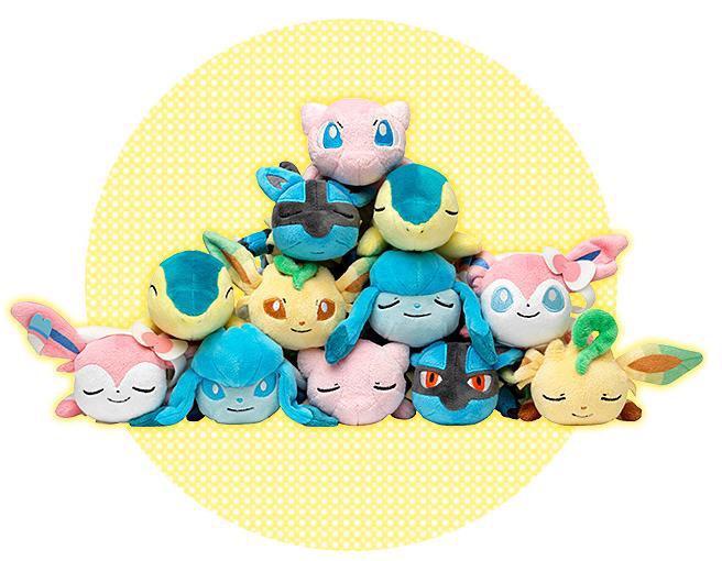 Pokémon Kuttari plush by Pokémon Center Wave 3