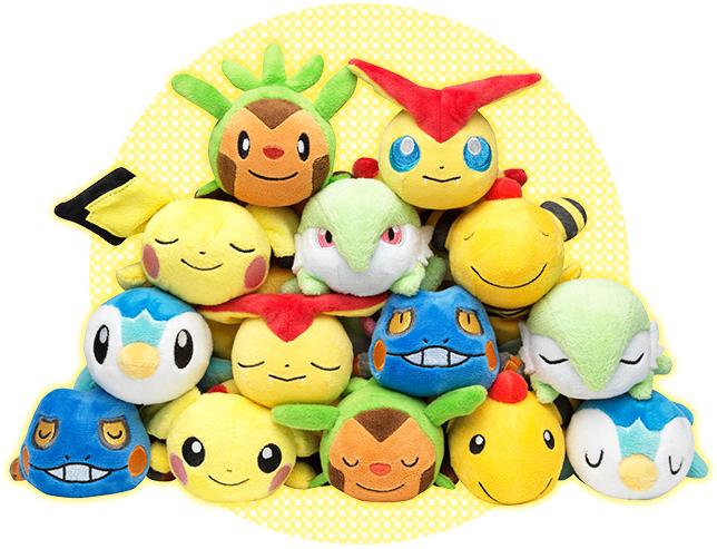 Pokémon Kuttari plush by Pokémon Center Wave 4