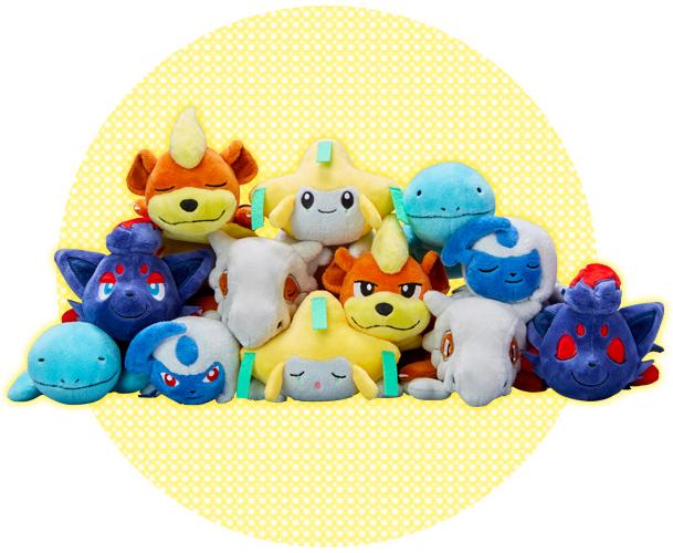 Pokémon Kuttari plush by Pokémon Center Wave 6