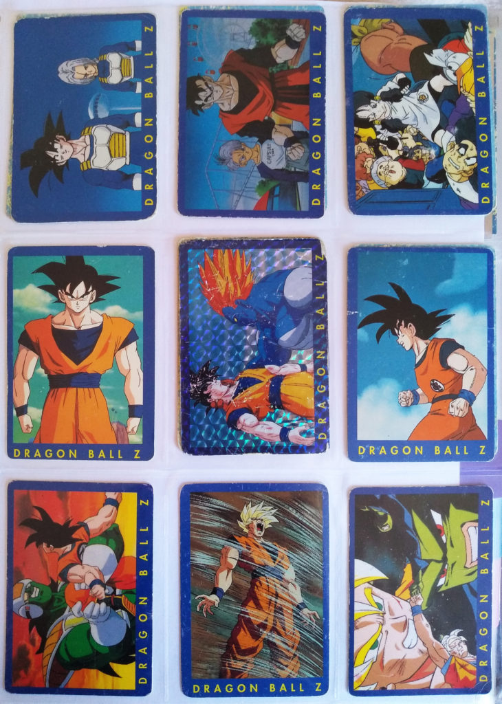 Collection Dragonball Z Serie 1 by Panini 22, 24, 26, 43, 50, 51, 52, 53, 58