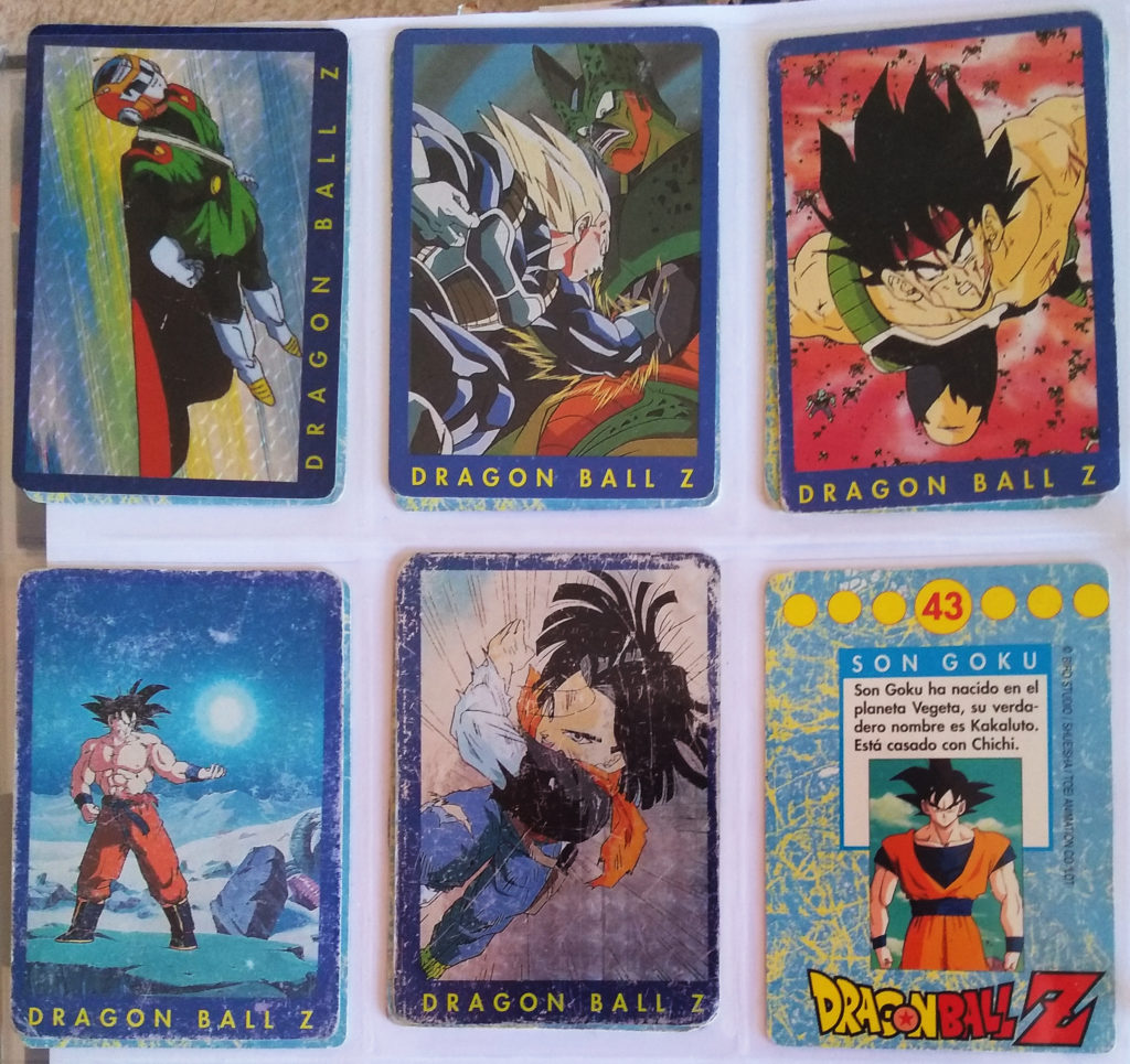 Collection Dragonball Z Serie 1 by Panini 60, 66, 68, 99, 101