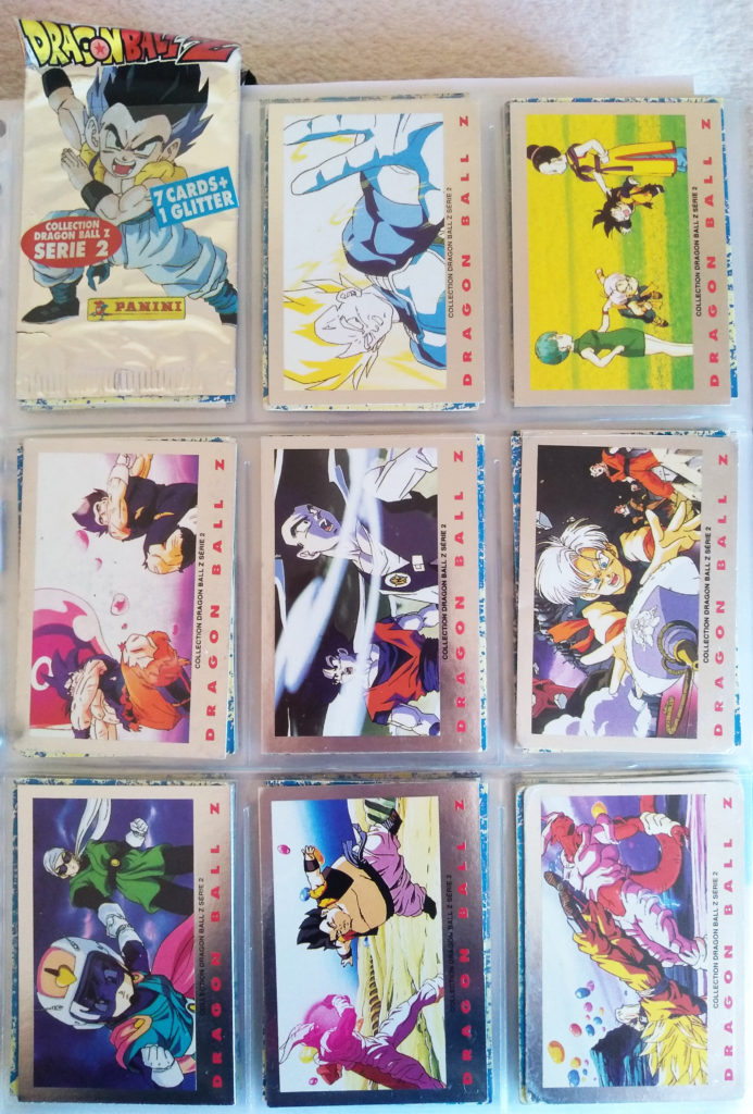Collection Dragonball Z Serie 2 by Panini 1-8