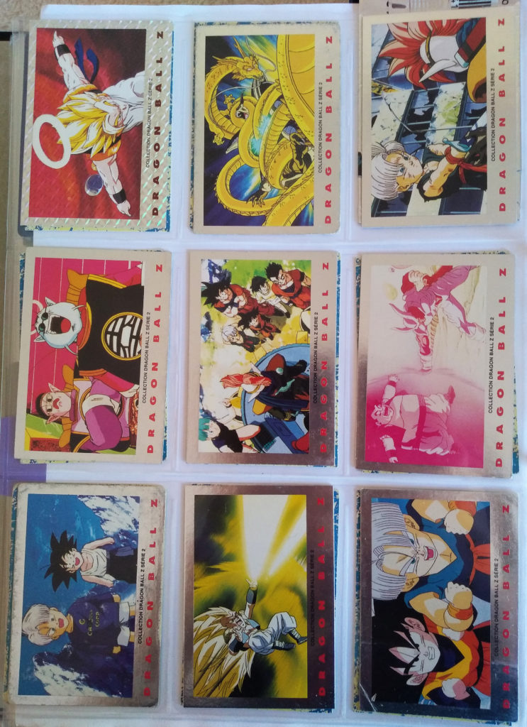 Collection Dragonball Z Serie 2 by Panini 9-17