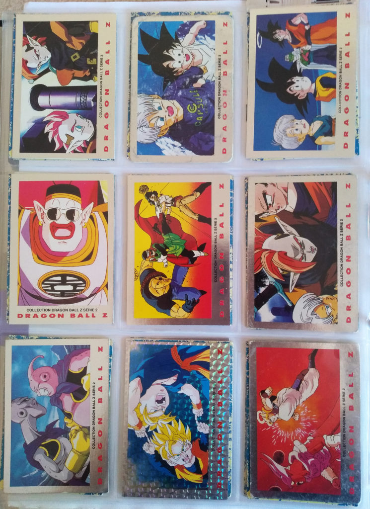 Collection Dragonball Z Serie 2 by Panini 27-35