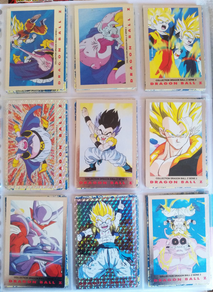 Collection Dragonball Z Serie 2 by Panini 54-62
