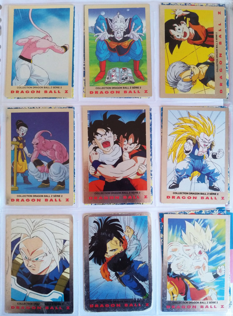 Collection Dragonball Z Serie 2 by Panini 90-98