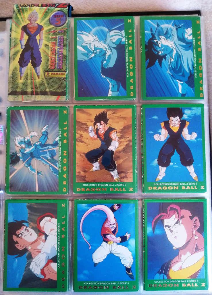Collection Dragonball Z Serie 5 - Panini 1-8