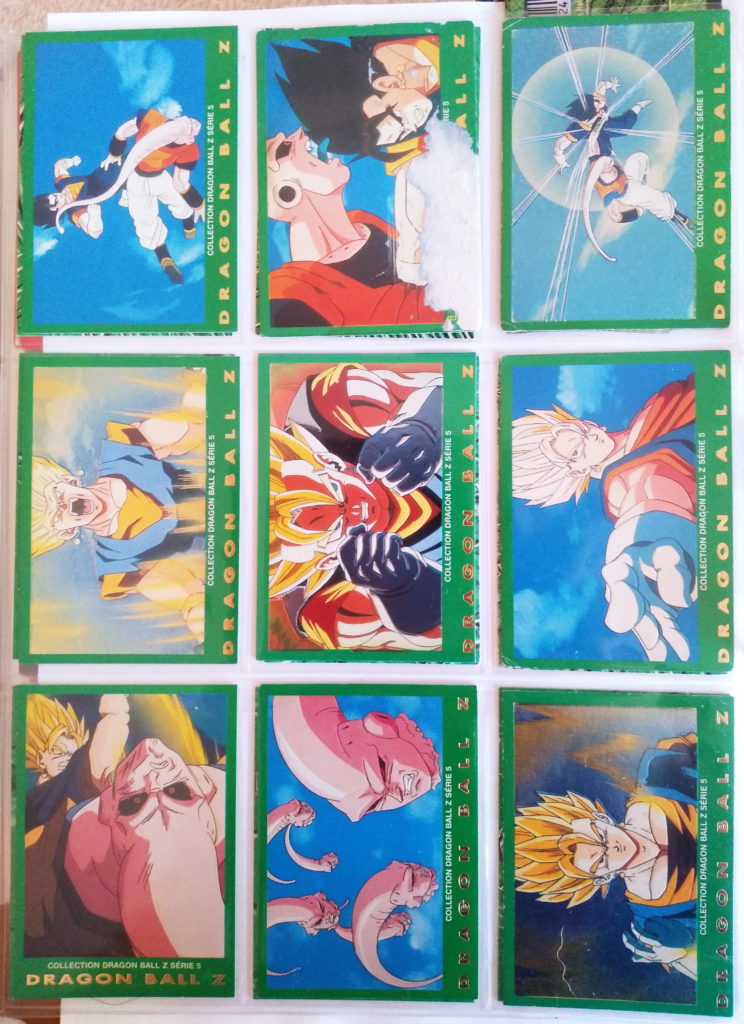 Collection Dragonball Z Serie 5 - Panini 9-17