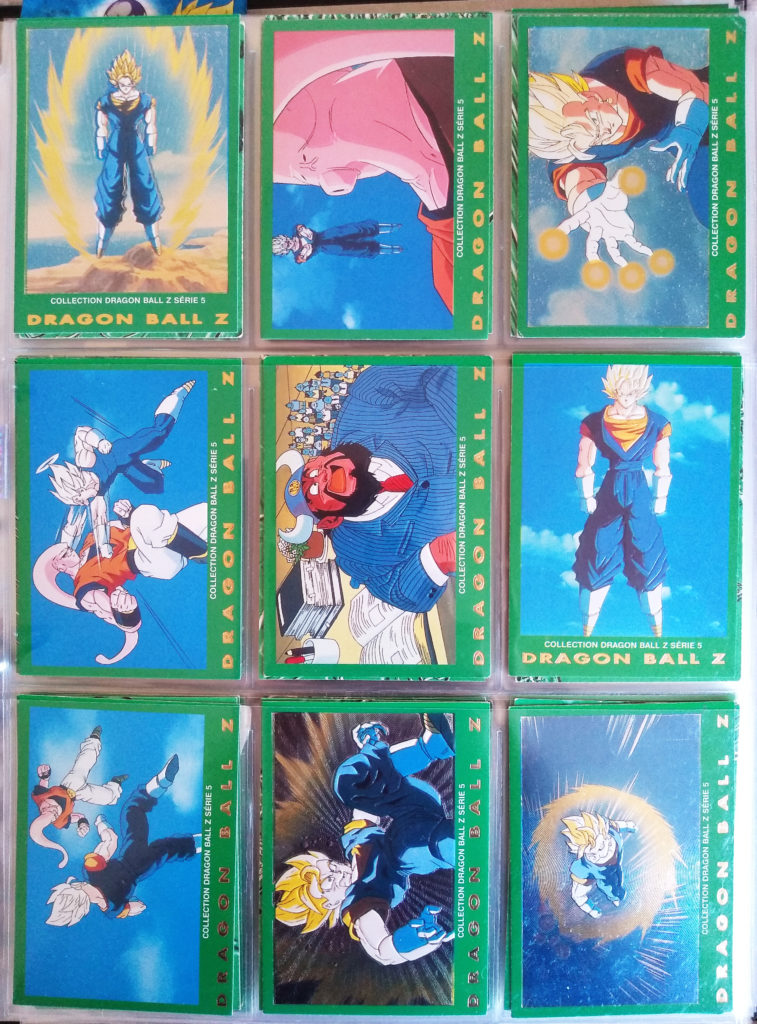Collection Dragonball Z Serie 5 - Panini 18-26