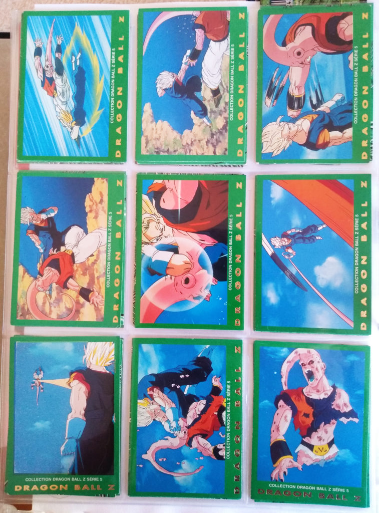 Collection Dragonball Z Serie 5 - Panini 27-35