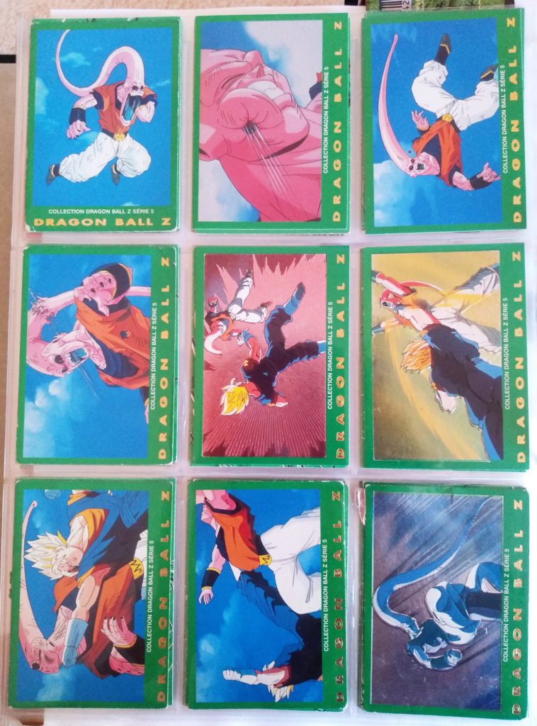 Collection Dragonball Z Serie 5 - Panini 45-53
