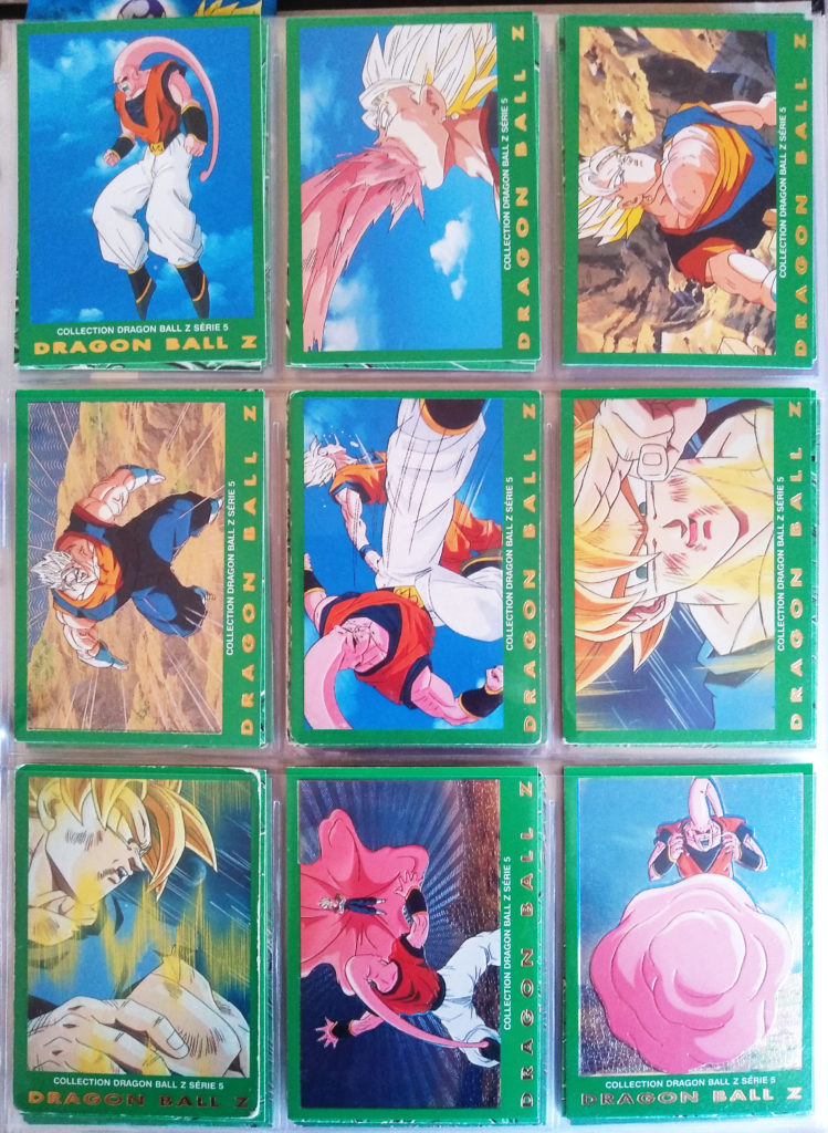 Collection Dragonball Z Serie 5 - Panini 54-62