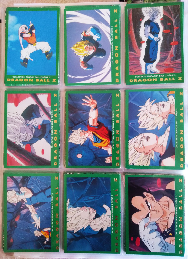 Collection Dragonball Z Serie 5 - Panini 63-71