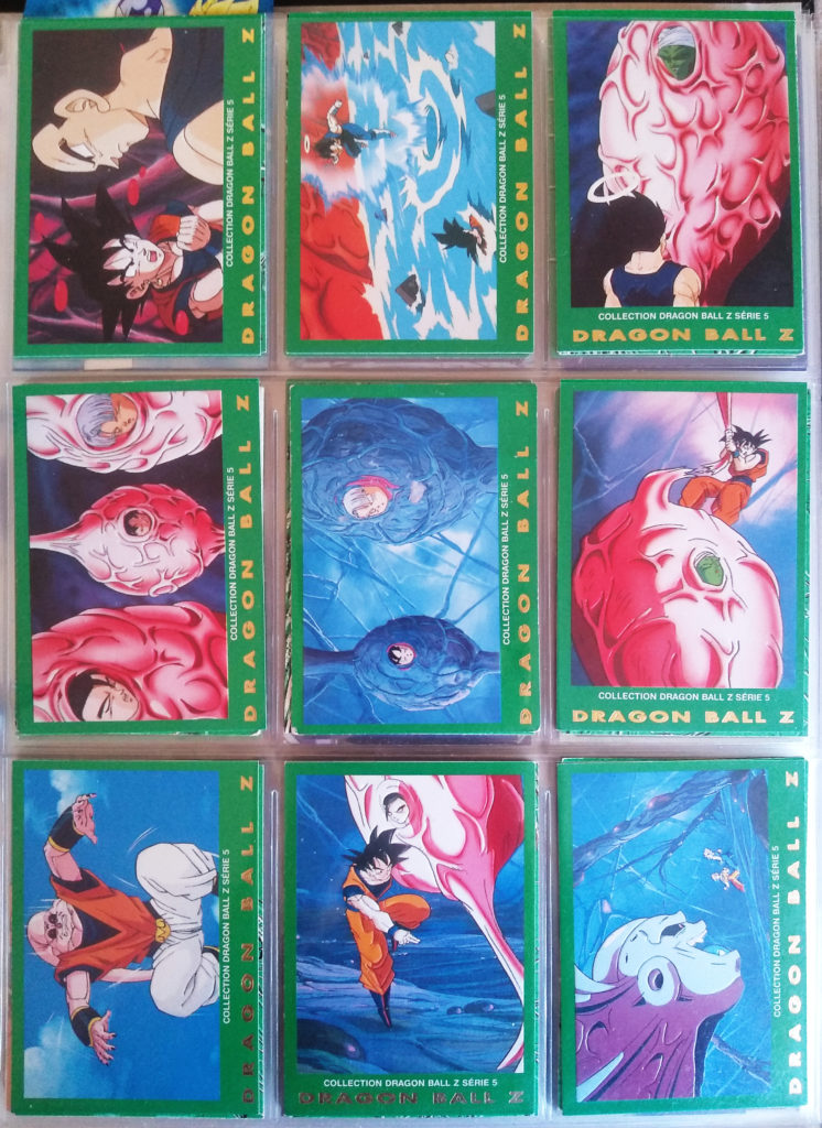 Collection Dragonball Z Serie 5 - Panini 72-80