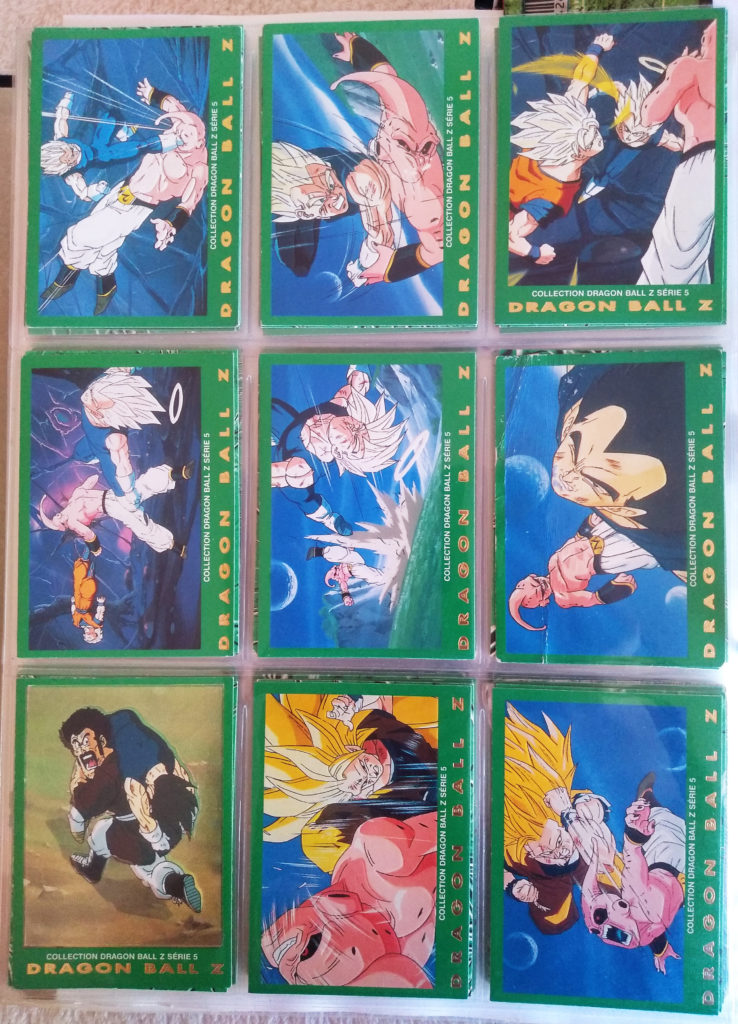 Collection Dragonball Z Serie 5 - Panini 81-89