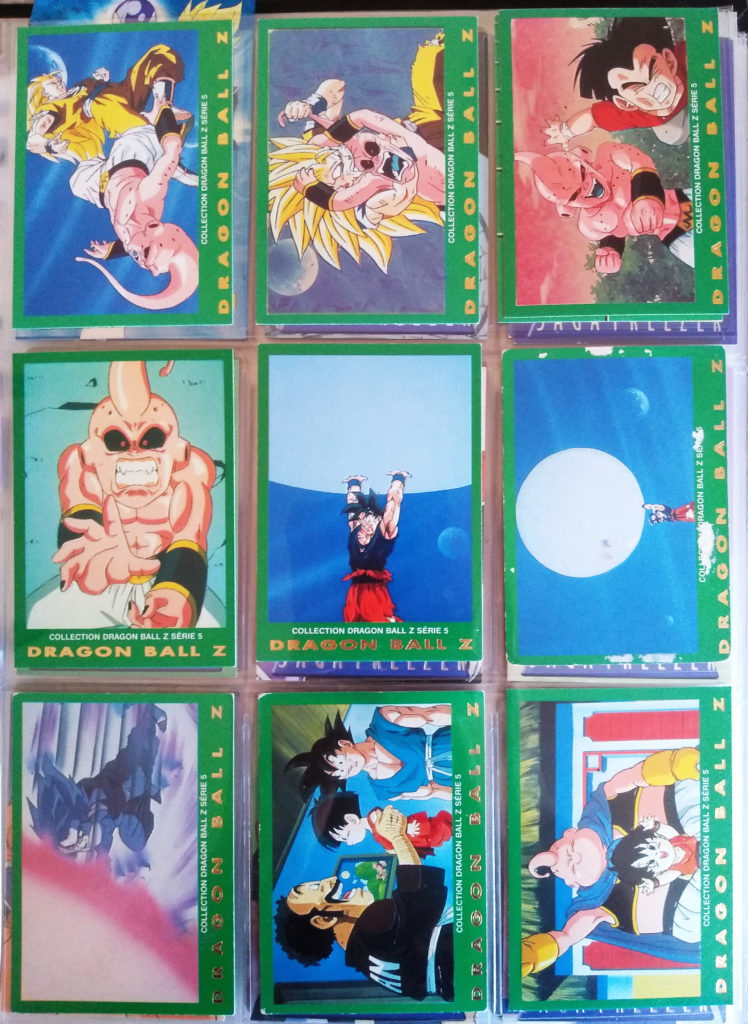 Collection Dragonball Z Serie 5 - Panini 90-98