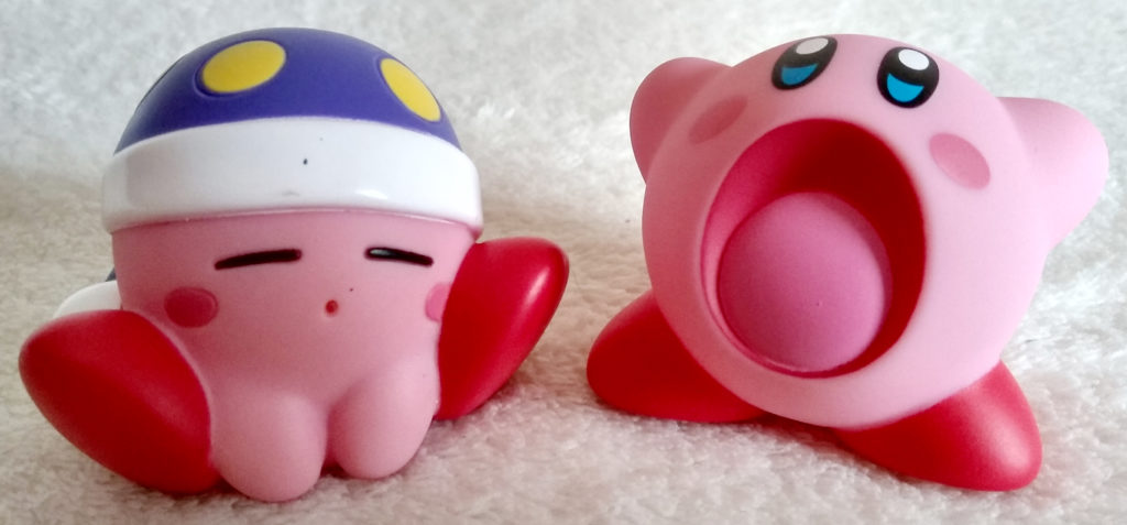 Kirby Soft Vinyl figures by Tomy
