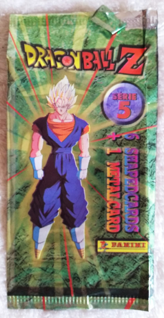 Collection Dragonball Z Serie 5 by Panini packaging