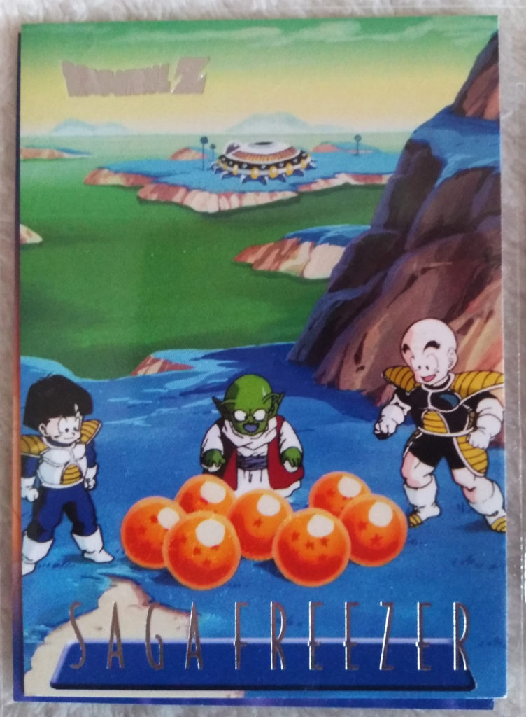 Dragonball Z Saga Freezer Trading Cards by Panini 88