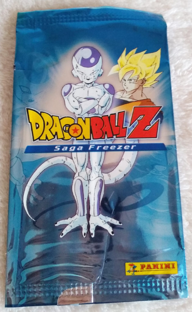 Dragonball Z Saga Freezer Trading Cards by Panini