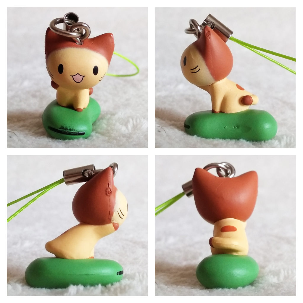 Mameneko dangler by Tomy Ver 2 Chestnut