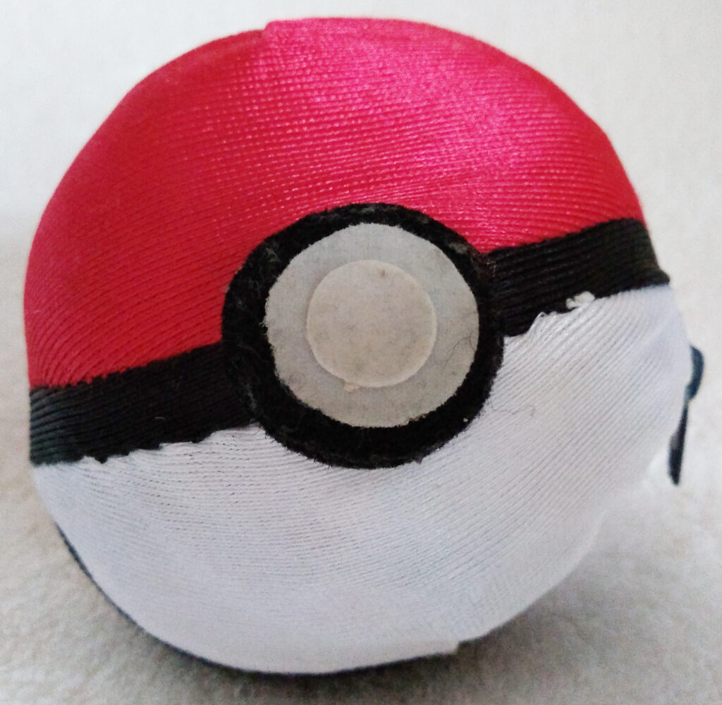 Reversible Pokéball plush by Tomy, Snorlax Pokéball