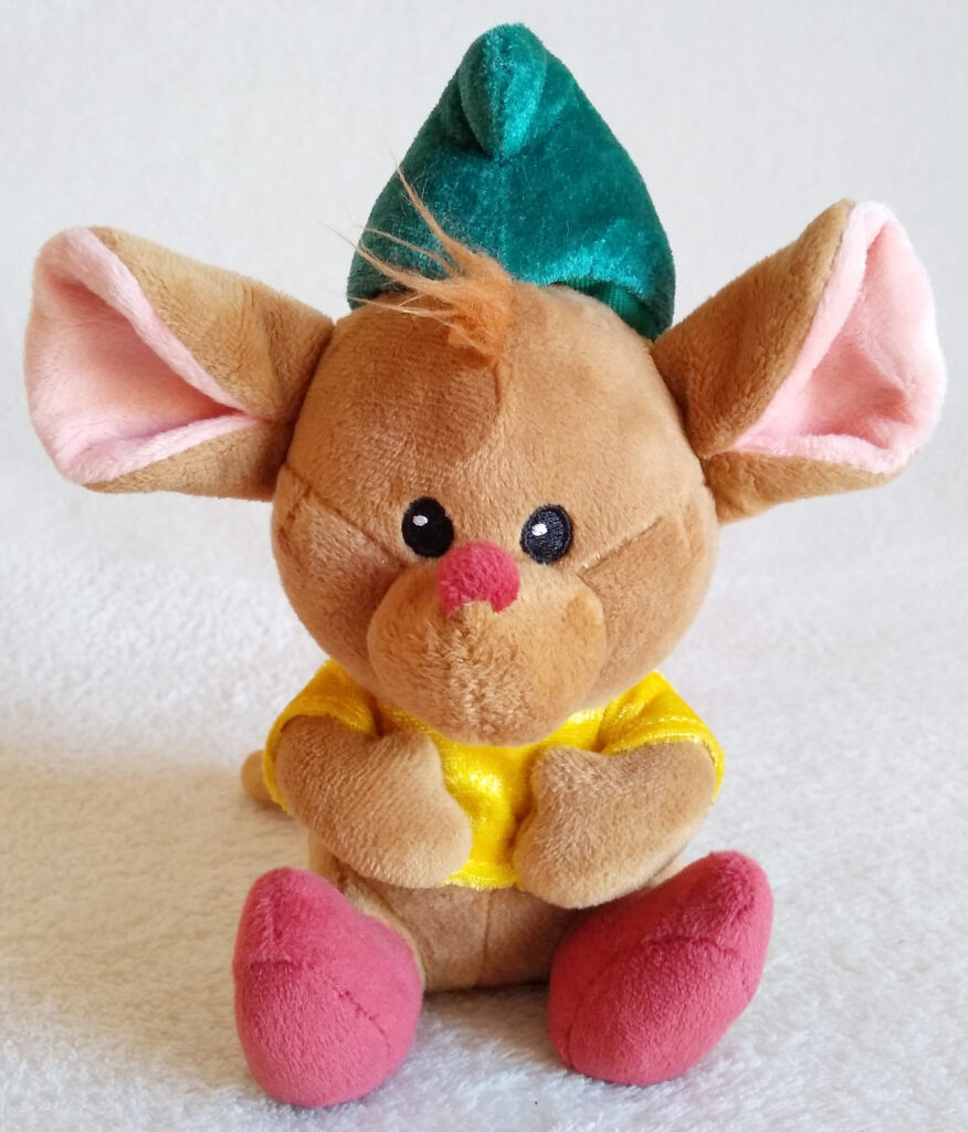 Gus from the Disney Animators' Collection plush, by the Disney Store Front