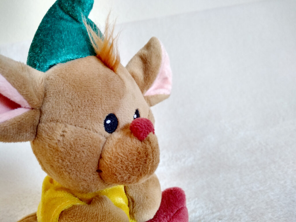 Gus from the Disney Animators' Collection plush, by the Disney Store