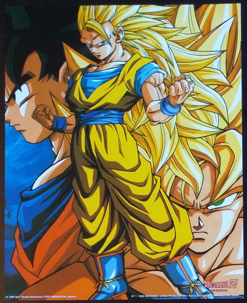 DBZ Posters 1000 Editions Poster 1