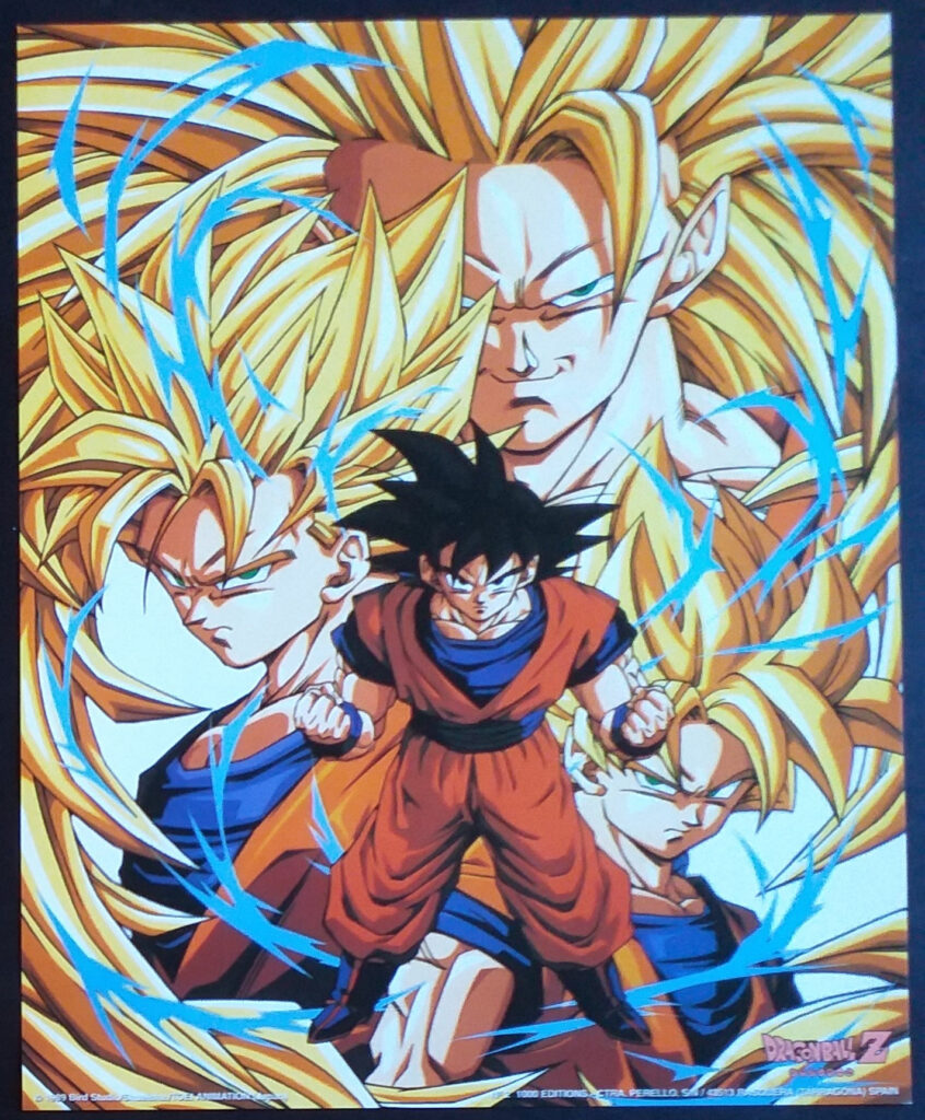 DBZ Posters 1000 Editions Poster 2